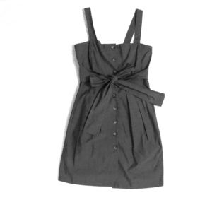 Theory size 4 dress with bow